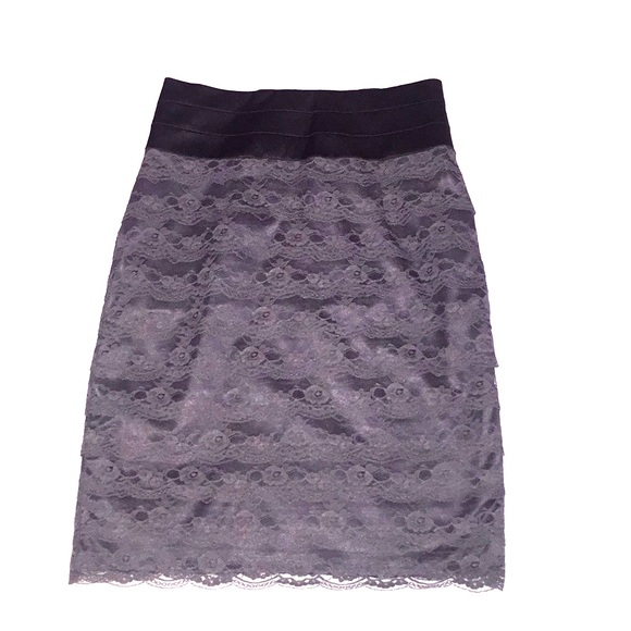 H&M Dresses & Skirts - High waisted lace pencil skirt